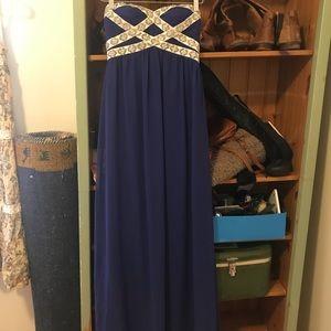 Minuet prom dress